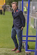 Wycombe Wanderers Manager Gareth Ainsworth  during the The FA Cup match between FC Halifax Town and Wycombe Wanderers at the Shay, Halifax, United Kingdom on 8 November 2015. Photo by Simon Davies.