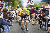 Kruijswijk Steven - Lotto NL Jumbo - 26.05.2015 - Tour d'Italie - Etape 16 - Pinzolo / Aprica<br />Photo : Pool / Sirotti / Icon Sport *** Local Caption ***