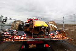 Motorsports / Formula 1: World Championship 2010, GP of Korea, car of 06 Mark Webber (AUS, Red Bull Racing) after crash