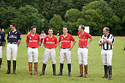 BRITISH ARMY TEAM. Hackett Rundle Cup 2008. Tidworth. 12 july 2008 *** Local Caption *** -DO NOT ARCHIVE-© Copyright Photograph by Dafydd Jones. 248 Clapham Rd. London SW9 0PZ. Tel 0207 820 0771. www.dafjones.com.