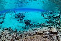 Silfra, Thingvellir lake, Thingvellir National Park, Iceland