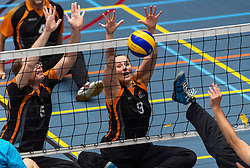 20-04-2019 NED: Dirk Kuyt Foundation Cup, Veenendaal<br /> National Cup sitting volleyball in Veenendaal / Volley Tilburg vs. Allvo II, Elvira Stinissen