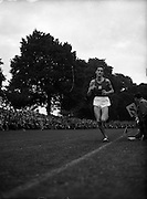 Sports - Clonliffe Harriers International, College Park, D.A.G. (South London Harriers and GB) running in 4 mile race..19/08/1952