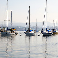 Newport Beach Bay Harbor in Orange County Southern California