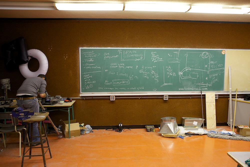 FIRST Robotics Quebec - Louis Joseph Papineau - Fusion Jeunesse