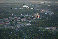 aerial image of Unversity of Kansas, Lawrence, KS
