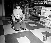 1971 - Electric Car Race at Supermarkets