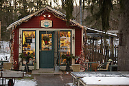 Sugar Loaf, NY - The Sugar Loaf Mountain Herbs store in the crafts village of Sugar Loaf on Dec. 12, 2009.