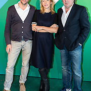 NLD/Amsterdam/20161117 - KPN Presenteert nieuwe programma's, serie Brussel, ............, Johanna ter Steege en Leon de Winter