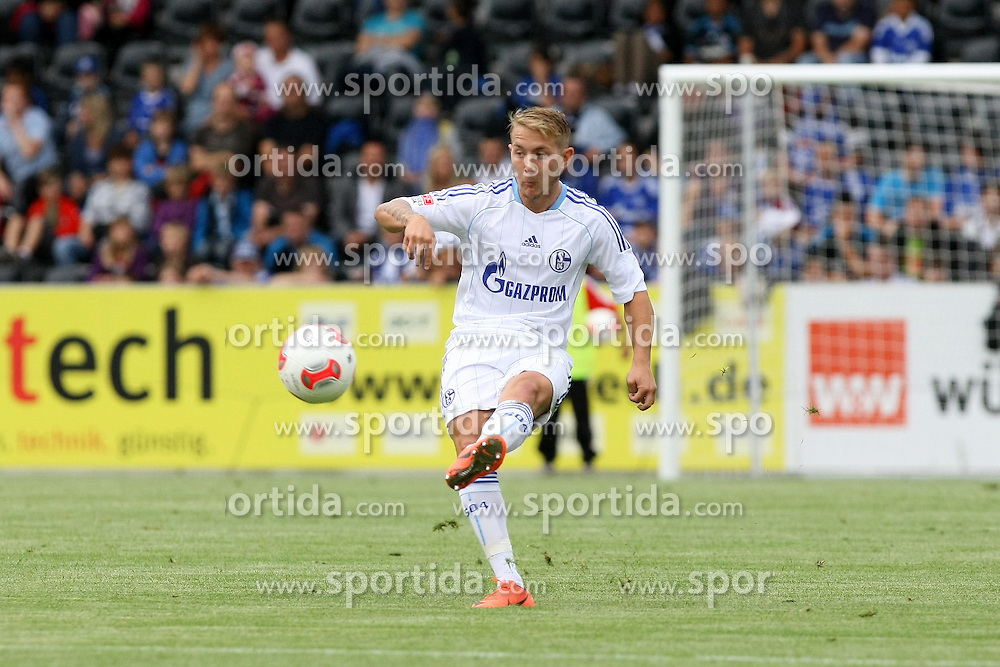 13.07.2012, Comtech Arena, Aspach, GER, Testspiel, SG Grossaspach vs FC Schalke 04, im Bild Lewis HOLTBY ( FC Schalke 04 ) Freisteller // during a friendly Match between SG Grossaspach and FC Schalke 04 at the Comtech Arena, Aspach, Germany on 2012/07/13. EXPA Pictures © 2012, PhotoCredit: EXPA/ Eibner/ Harry Langer..***** ATTENTION - OUT OF GER *****