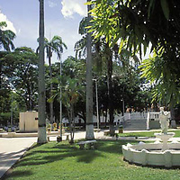 Plaza Bolivar, San Carlos, Edo. Cojedes, Venezuela.