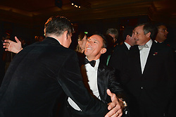 FRANKIE DETTORI at the 26th Cartier Racing Awards held at The Dorchester, Park Lane, London on 8th November 2016.