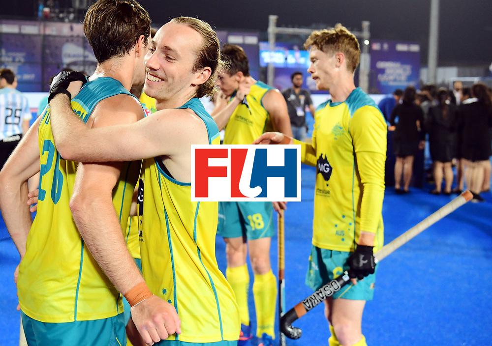 Odisha Men's Hockey World League Final Bhubaneswar 2017<br /> Match id:22<br /> Argentina v Australia<br /> Foto: Australia wins the Odisha Men's Hockey World League Final.<br /> <br /> WORLDSPORTPICS COPYRIGHT KOEN SUYK