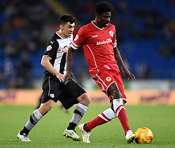 Cardiff City's Bruno Ecuele Manga passes the ball - Photo mandatory by-line: Paul Knight/JMP - Mobile: 07966 386802 - 28/12/2014 - SPORT - Football - Cardiff - Cardiff City Stadium - Cardiff City v Watford - Sky Bet Championship