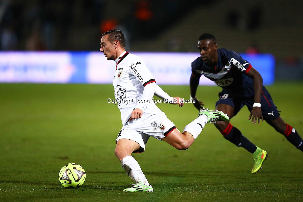Eric Bautheac / Maxime Poundje - 16.01.2015 - Bordeaux / Nice - 21e journee Ligue 1<br />Photo : Manuel Blondeau / Icon Sport