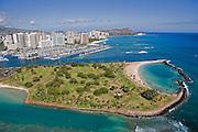 Ala Moana Beach Park, Waikiki, Oahu, Hawaii<br />