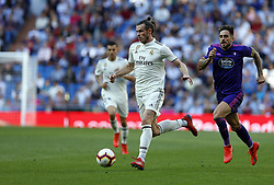 March 16, 2019 - Madrid, Madrid, Spain - Real Madrid CF's Gareth Bale seen in action during the Spanish La Liga match round 28 between Real Madrid and RC Celta Vigo at the Santiago Bernabeu Stadium in Madrid. (Credit Image: © Manu Reino/SOPA Images via ZUMA Wire)