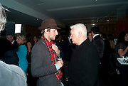 HENRY HUDSON; MICHAEL CRAIG-MARTIN, Launch of Nicky Haslam's book Redeeming Features. Aqua Nueva. 5th floor. 240 Regent St. London W1.  5 November 2009.  *** Local Caption *** -DO NOT ARCHIVE-© Copyright Photograph by Dafydd Jones. 248 Clapham Rd. London SW9 0PZ. Tel 0207 820 0771. www.dafjones.com.<br /> HENRY HUDSON; MICHAEL CRAIG-MARTIN, Launch of Nicky Haslam's book Redeeming Features. Aqua Nueva. 5th floor. 240 Regent St. London W1.  5 November 2009.