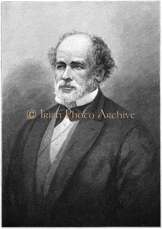 Matthew Fontaine Maury (1806-1873), American naval officer and hydrographer and oceanographer. Founder of the US Naval Oceanographic Office. Engraving. 1896.