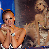 "Paris Hilton is photographed at an appearance for her new single ""Stars Are Blind"" Tuesday, Aug. 15, 2006, in Miami Beach, Fla. (AP Photo/Steve Mitchell)"