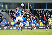 Macclesfield's George Pilkington during the Vanarama National League match between Macclesfield Town and Forest Green Rovers at Moss Rose, Macclesfield, United Kingdom on 12 November 2016. Photo by Shane Healey.