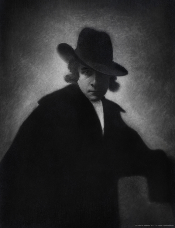 Hoppé, E. O., self portrait in the style of the Romanticists, England, UK, 1912