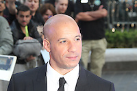Vin Diesel, The Fast And The Furious 6 - World Film Premiere, Empire Cinema Leicester Square, London UK, 08 May 2013, (Photo by Richard Goldschmidt)