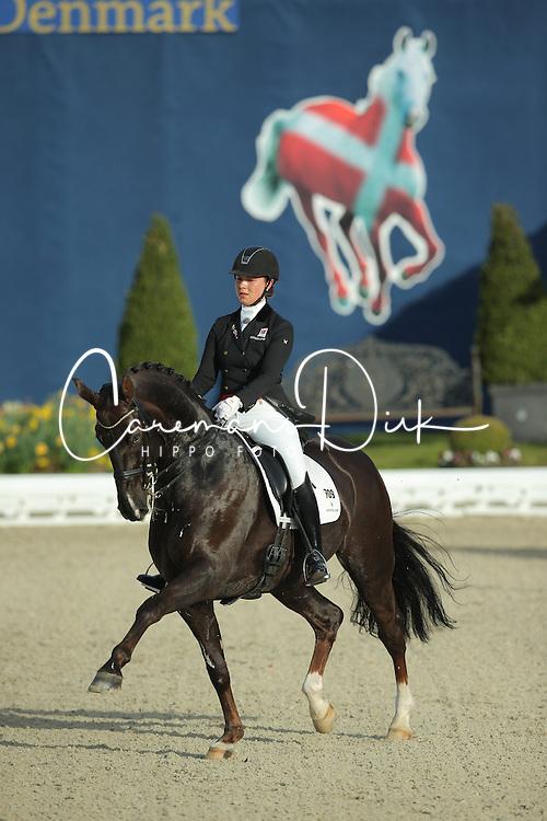 Kasprzak Anna, (DEN), Donnperignon<br /> Qualification Grand Prix Special<br /> Horses & Dreams meets Denmark - Hagen 2016<br /> © Hippo Foto - Stefan Lafrentz