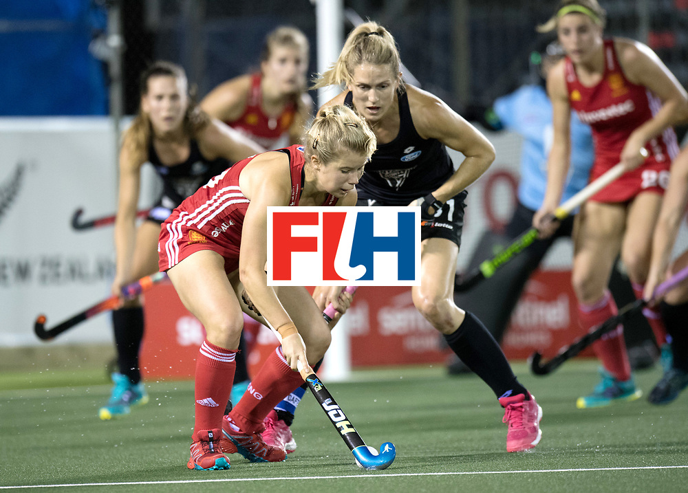 AUCKLAND - Sentinel Hockey World League final women<br /> Match id: 10310<br /> 20 ENG v NZL (Semi Final) 0-1<br /> New Zealand play the final<br /> Foto:  Sophie Bray <br /> WORLDSPORTPICS COPYRIGHT FRANK UIJLENBROEK