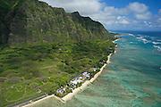 Kualoa, Kaneohe Bay, Waimanalo, Makapu Pt., Hawaii Kai, Kahala,Oahu, Hawaii