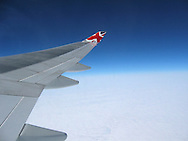 virgin atlantic flight 007, london to los angeles