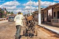 Street scene in Guira de Melena, Artemisa,Cuba.