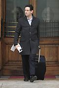 2013/03/28 Roma, parlamentari in piazza Montecitorio. Nella foto Andrea Vallascas.<br /> Rome, politicians in Montecitorio Square. In the picture Andrea Vallascas  - &copy; PIERPAOLO SCAVUZZO