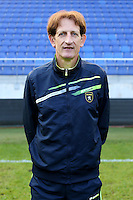 Eric PEGORER - 04.10.2014 - Photo officielle Sochaux - Ligue 2 2014/2015<br /> Photo : Icon Sport