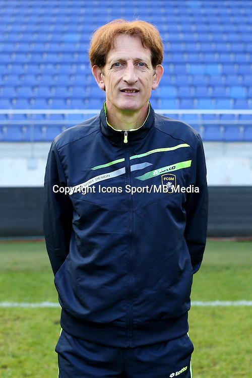 Eric PEGORER - 04.10.2014 - Photo officielle Sochaux - Ligue 2 2014/2015<br /> Photo : Icon Sport