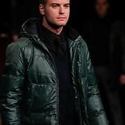 NLD/Amsterdam/20120124 - Modeshow Cold Method 5 jaar, Jim Bakkum