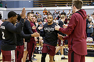 November 19, 2018: The Oklahoma Christian University Eagles play against the Southern Nazarene University Crimson Storm in the Sawyer Center on the SNU campus.