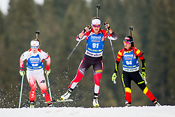 Dunja Zdouc (AUT) during Women 15km Individual at day 5 of IBU Biathlon World Cup 2018/19 Pokljuka, on December 6, 2018 in Rudno polje, Pokljuka, Pokljuka, Slovenia. Photo by Ziga Zupan / Sportida