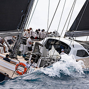 The 114.83ft /35m Custom 'Sojana' was built in 2003 by Green Marine and last refitted in 2016. This luxury vessel's sophisticated exterior design and engineering are the work of Farr Yacht Design. The yacht's interior has been designed by Design Unlimited and her exterior styling is by Farr Yacht Design.