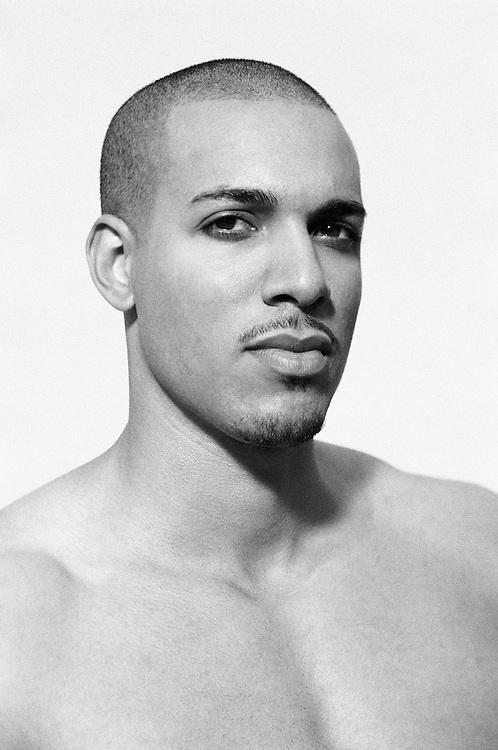 Portrait of a mixed race man&amp;#xA;<br />