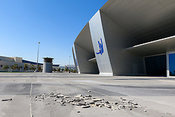 26.01.2015, Doha, QAT, FIFA WM, Katar 2022, Vorberichte, im Bild ein Gehsteig vor dem Aspire Dome // Preview of the FIFA World Cup 2022 in Doha, Qatar on 2015/01/26. EXPA Pictures © 2015, PhotoCredit: EXPA/ Sebastian Pucher