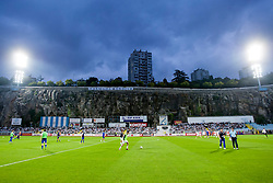 Stadion Kantrida before football match between HNK Rijeka and HNK Hajduk Split in 11th Round of Prva Hrvaska Nogometna Liga MaxTV 2013/14 on September 28, 2013 in Stadion Kantrida, Rijeka, Croatia. (Photo By Urban Urbanc / Sportida.com)