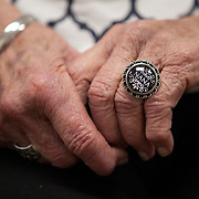 NURSING HOME<br /> <br /> Alice Jacobs, 90, wears a ring given by her granddaughter at the Dogwood Village assisted living facility Friday, June 23, 2017, in Orange, VA.  Jacobs once owned a factory and horses, raised four children and buried two husbands.  But years in an assisted living facility drained her savings, and now, she relies on Medicaid to pay for her care.<br /> <br /> Photo by Khue Bui