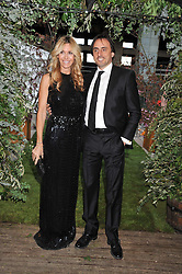 MELISSA ODABASH and her husband NICOLAS DE SANTIS at Gabrielle's Gala an annual fundraising evening in aid of Gabrielle's Angel Foundation for Cancer Research held at Battersea Power Station, London on 2nd May 2013.