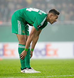20.10.2016, Weststadion, Wien, AUT, UEFA EL, SK Rapid Wien vs US Sassuolo Calcio, Gruppe F, im Bild Joelinton (SK Rapid Wien) // during a UEFA Europa League, group F game between SK Rapid Wien and US Sassuolo Calcio at the Weststadion, Vienna, Austria on 2016/10/20. EXPA Pictures © 2016, PhotoCredit: EXPA/ Sebastian Pucher