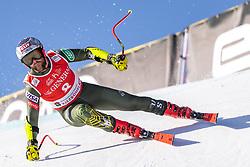 24.01.2020, Streif, Kitzbühel, AUT, FIS Weltcup Ski Alpin, SuperG, Herren, im Bild Travis Ganong (USA) // Travis Ganong of the USA in action during his run for the men's SuperG of FIS Ski Alpine World Cup at the Streif in Kitzbühel, Austria on 2020/01/24. EXPA Pictures © 2020, PhotoCredit: EXPA/ Johann Groder