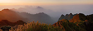 Vietnam Images-panoramic landscape-Fansipan peak-Sapa Hoàng thế Nhiệm