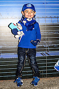 Young Everton fan during the Barclays Premier League match between Everton and Crystal Palace at Goodison Park, Liverpool, England on 7 December 2015. Photo by Simon Davies.