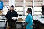 at the Hospital Albert Schweitzer on Saturday, October 30, 2010 in Deschapelles, Haiti.
