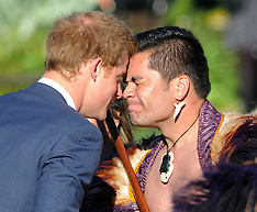 Wellington-Government House welcome for Prince Harry
